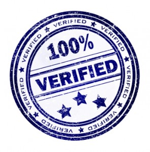 how to get a verified adress